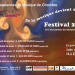 Les Européennes de Musique de Chambre 2016